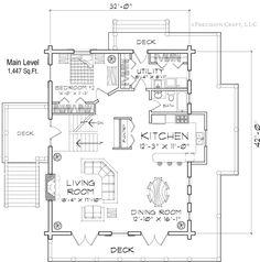 Excellent Open Kitchen Dining Living Room Floor Plans Photos ...