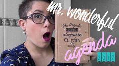 Agenda Mr. Wonderful 2017 - Semana Vista - Lo bueno y Lo malo