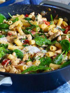 Frittata, Gnocchi, Kung Pao Chicken, Paella, Ricotta, Pasta Salad, Nom Nom, Bacon, Spaghetti