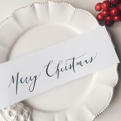 Merry Christmas Pie Dish, Merry Christmas, Calligraphy, Dishes, Merry Little Christmas, Lettering, Tablewares, Wish You Merry Christmas, Calligraphy Art