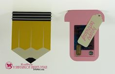 My hobby My Art: Tarjeta para gift card en forma de lapiz