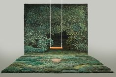 It was during Paris Fashion Week that models for designer Dries Van Noten walked down a catwalk that looked like an enchanting forest path. Instead of being real moss and undergrowth, it was actually a...
