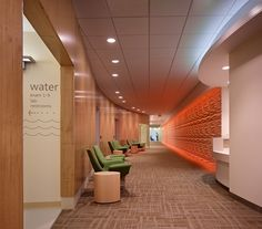 Healthcare Interior Design Competition  | Project Title: Living Well Health Center | Project Location: Redmond, Washington, USA | Firm: NBBJ, Seattle, Washington, USA | Category: Ambulatory Care Centers | Award: Honorable Mention