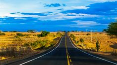 Oh the road, no Sertão Nordestino. Foto: Carlos Roberto Macedonio (BBC Brasil)
