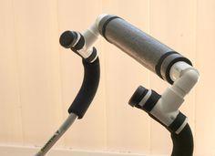 DIY Umbrella stroller handle extender