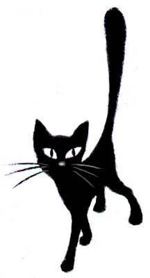 Black cat art · diary jagusya: liveinternet - russian service online diaries cool cats, i love cats, Black Cat Art, Black Cats, Black Kitty, Black Cat Tattoos, Image Chat, Illustration Art, Illustrations, Art Diary, Cat Drawing