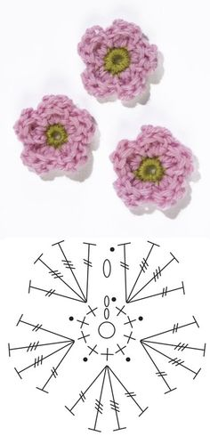 Crochet Apple Blossom