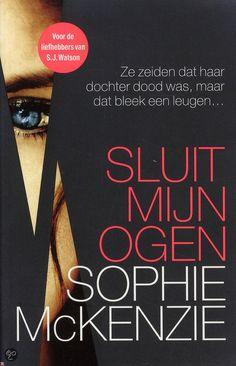 Sophie McKenzie - Sluit mijn ogen - 2014 - Kobo