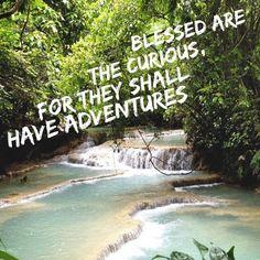 www.elizabethkoh.com #elizabethkoh #quote #blessed #becurious #adventure #adventureoften #thailand #lifesajourney #inspire #waterfall #hike #paradise