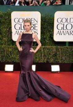 Globos de Oro 2013: las mejor vestidas sobre la alfombra roja