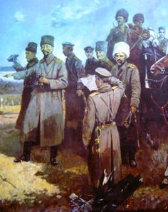Russian White Army during the Civil War