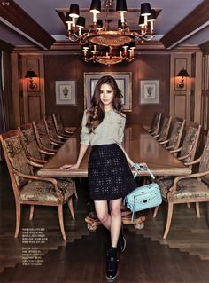 SNSD Seohyun for InStyle magazine September Issue Sooyoung, Yoona, Snsd Fashion, Korean Fashion, Girl Fashion, 2ne1, Btob, Korean Girl, Asian Girl