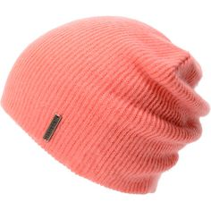 The Quinn slouch beanie from Spacecraft Collective is the ultimate in classic head wear. This Pink Spacecraft beanie is extra soft with a slightly ribbed knit texture, a slight slouch fit, and a custom metal Spacecraft logo tag. The Spacecraft Quinn beanie looks great on guys and girls for the kind of knit hat you could wear anytime!