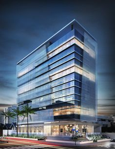 Mix Use Building, Building Concept, Tower Building, Building Design, Modern Architecture Design, Commercial Architecture, Architecture Office, Facade Design, Commercial Office Design