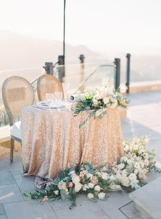 Photography : The Great Romance   Event Planning : CCL Weddings & Events   Venue : Malibu Rocky Oaks   Floral Design : Peony and Plum Read More on SMP: http://www.stylemepretty.com/2016/06/28/a-stunning-mountaintop-wedding-with-a-meaningful-details/