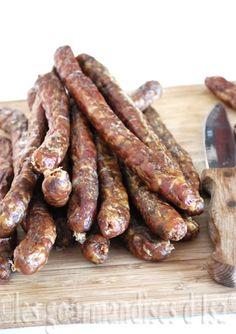 péperettes, boyau d'agneau, saucisses séchées, paprika fumé,