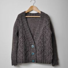 Paid pattern $5 on ravelry. Cute children's cardi. cosy (you) by nadia crétin-léchenne