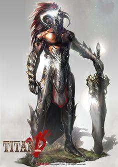Huge sword character design ~Inspiration for Van Yuba and the Great Zircon!