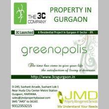 The Best Property in Gurgaon 3cs Greenopolis in Sector 89