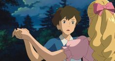 Marnie and Anna | When Marnie was There | 2014