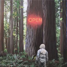 A selection of the recent paintings of Scott Listfield, aka Astronaut Dinosaur, this American artist who invites us to follow the adventures of a poor astrona