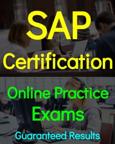 SAP Certification questions and online practice exams. Complete guide prepared by team of experts from SAP.