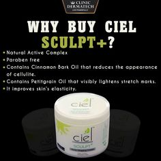 Shape your body with Clinic Dermatech's CIEL Sculpt+  Clinic Dermatech presents CIEL Sculpt+, a unique body shaping cream that preserves and enhances the benefits of body shaping programmes. Its unique blend of hot oils breaks down the extra deposits of fat. This cream is recommended for daily use throughout the body shaping treatment. To enquire, call 8905320330 (Delhi NCR) or 8430150151 (Mumbai) or visit www.clinicdermatech.com.  #CielSculptPlus #Beauty #Wellness #LivePowerfully…