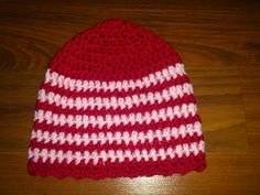 Girlie beanie - Crochet creation by creativemind | Crochet.Community