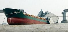 Shipping disasters around the world !