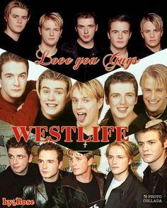 Westlife I love you Forever my 5 hondsome guys