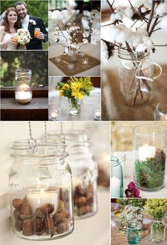 Lots of mason jar ideas!