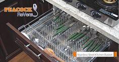 Kitchen accessories storage shelves New ideas Backsplash For White Cabinets, Redo Kitchen Cabinets, Kitchen Cabinet Layout, Kitchen Wall Colors, Kitchen Decor Themes, Diy Cabinets, Kitchen Baskets, Kitchen Trolley, New Kitchen Diy