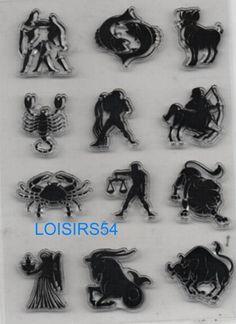 Tampon transparent 12 signes du zodiaque 12 pièces pour la décoration de vos cartes de remerciement, carton de bienvenue. A utiliser avec un bloc transparent ou acrylique.  https://www.alittlemercerie.com/tampons-et-encres/tampon_transparent_12_signes_du_zodiaque_pour_decoration_12_pieces-9249861.html