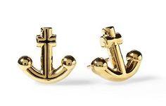 Kate Spade Anchors Away Stud Earrings