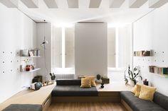 silvia allori self-designs studio apartment in florence