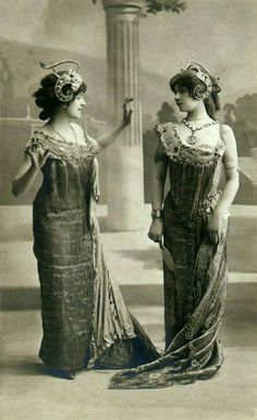 gowns and adornment