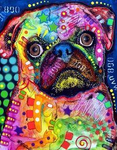 New lady hand bags french bulldog women messenger bags mujer crossbody bag cute bug dog outdoor travel mini bolsa feminina(China (Mainland)) Animal Drawings, Art Drawings, Pugs, Pug Art, Pug Pictures, Arte Pop, Mundo Animal, Colorful Paintings, Painting Prints