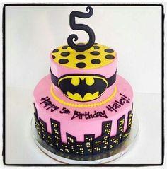 Batgirl cake (photo only)