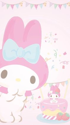 My Melody Wallpaper, Cute Pastel Wallpaper, Creative Instagram Stories, Instagram Story, Sanrio, Cute Wallpapers, Hello Kitty, Kawaii, Pink