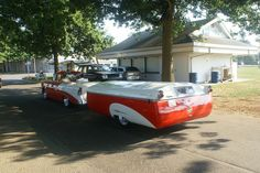 Vintage Chevy w/ matching pop up camper. Is this cool or what?