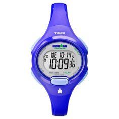 Women's Timex Ironman Essential 10 Lap Digital Watch - Blue T5K784JT, Cobalt