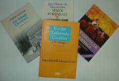 Çavdar Tarlasında Çocuklar - Jerome David Salinger http://beyazkitaplik.blogspot.com/2013/09/cavdar-tarlasinda-cocuklar-jerome-david.html