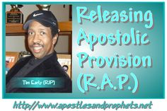 Releasing Apostolic Provision by Apostle Tim Early