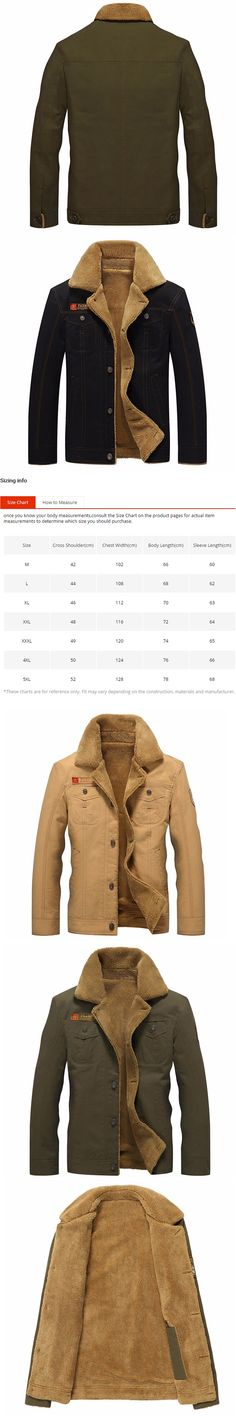 Winter Jacket Men Military Outerwear Tactical Air Force Pilot Bomber Jackets Mens Fur Collar jeans Coats 5XL jaqueta masculino