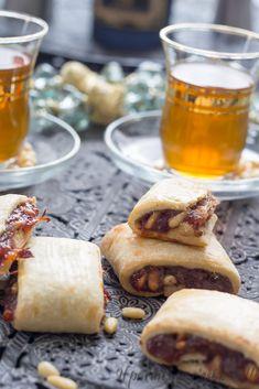 Biscuits aux dattes et pignons de pin, dattes de Newtons