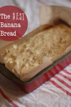 Florence's Food: The Best Banana Bread