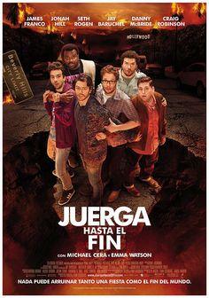 """póster de la película """"Juerga hasta el fin"""""""