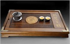 Chinese solidwood tea tray displaying and serveing by Chinateaware, $35.00
