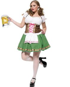 Plus Size Oktoberfest Beer Girl Costumes – Disguises