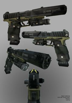 Airsoft hub is a social network that connects people with a passion for airsoft. Talk about the latest airsoft guns, tactical gear or simply share with others on this network Sci Fi Weapons, Weapon Concept Art, Fantasy Weapons, Weapons Guns, Guns And Ammo, Airsoft, Armes Futures, Future Weapons, Custom Guns